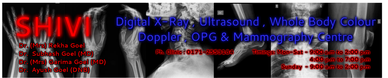 SHIVI X-Ray And Ultrasound Centre , Ambala